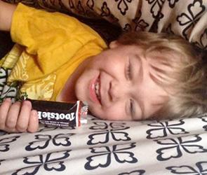 Tootsie Rolls Make Him Happy!