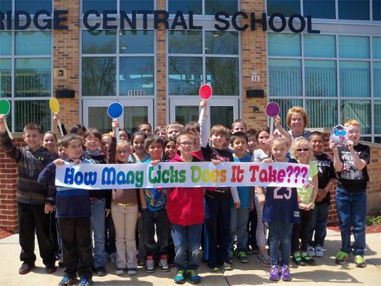 Ridge Central School Loves Tootsie Pops!