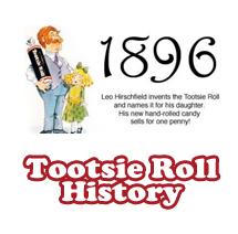 Tootsie History Interactive Timeline