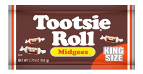 New Tootsie Roll King Size Pouch