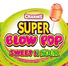 Sweet 'N  Sour Super Blow Pops