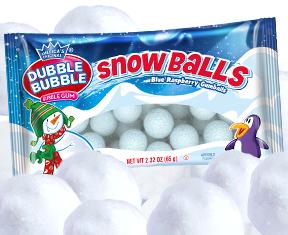 Dubble Bubble Snow Balls