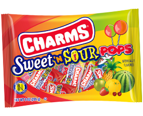 Charms Sweet 'N Sour Pops