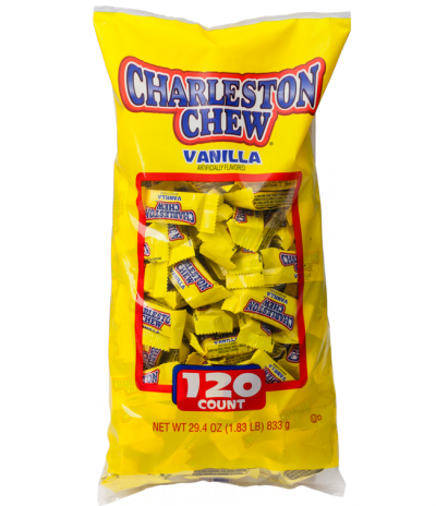 Group of Charleston Chew Small Bars; Tootsie Roll products