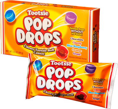Group of Tootsie Pop Drops; Tootsie Roll products