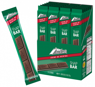 Group of Andes Snap Bars; Tootsie Roll products