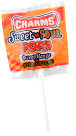 Charms Sweet And Sour Pops Mango 'N Tangerine Flavor