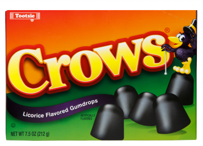 Crows Black Licorice Gumdrops