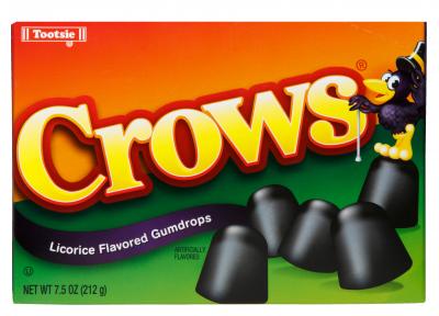 Crows Black Licorice Gumdrops