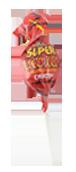 Charms Super Blow Pops Cherry  Flavor