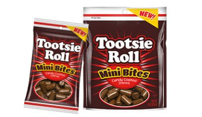 Group of Tootsie Roll Mini Bites; Tootsie Roll products