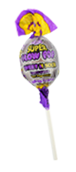 Charms Super Blow Pops Grape Pineapple Flavor