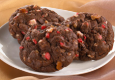Andes Double Chocolate Peppermint Crunch Cookies