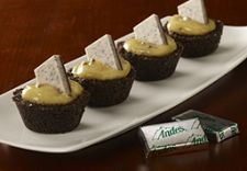 Andes Mint Cookie Crunch Pudding Cups recipe photo