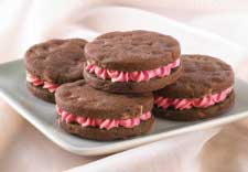 Andes® Chocolate Cherry Jubilee Sandwich Cookies recipe photo