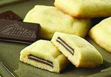 Andes Mint Pillow Cookies recipe photo