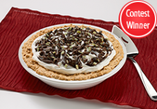 Andes Mint Nut Cracker Pie
