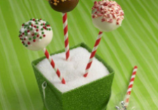 Andes Peppermint Crunch Cake Pops