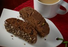 Andes Crème De Menthe Chocolate Biscotti