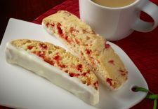Andes Peppermint Crunch Biscotti
