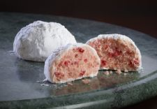 Andes Peppermint Crunch Snowball Cookies