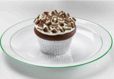Andes Creme De Menthe Cupcakes