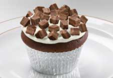 Andes® Toffee Crunch Cupcakes recipe photo