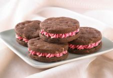 Andes Peppermint Crunch Sandwich Cookies