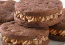 Andes® Chocolate Toffee Crunch Sandwich Cookies recipe photo