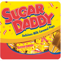 Sugar daddy caramel pops candy